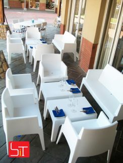Furniture Installation at Mythos Irene