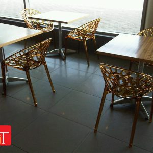 Furniture Installation at Curry Pot