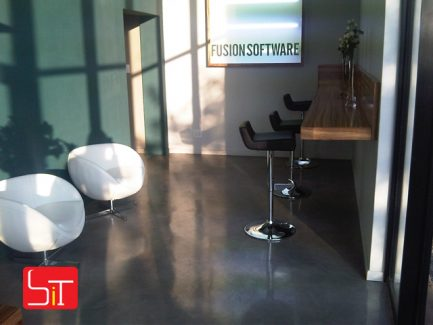 Furniture Installation at Fusion Software