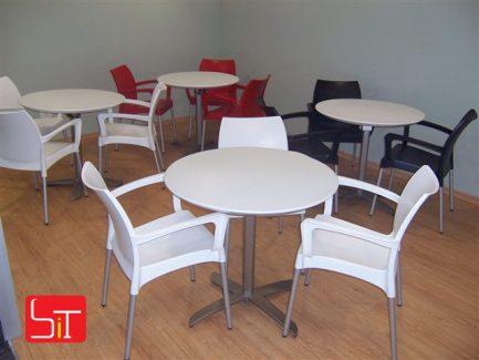 Furniture Installation at Swatch