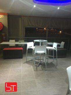 Furniture Installation at Liquid Zone