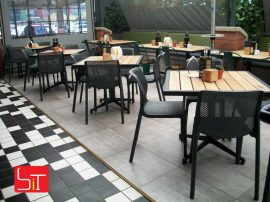 Furniture Installation at Eat in Italian