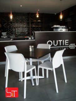 Furniture Installation at Outie Bakery