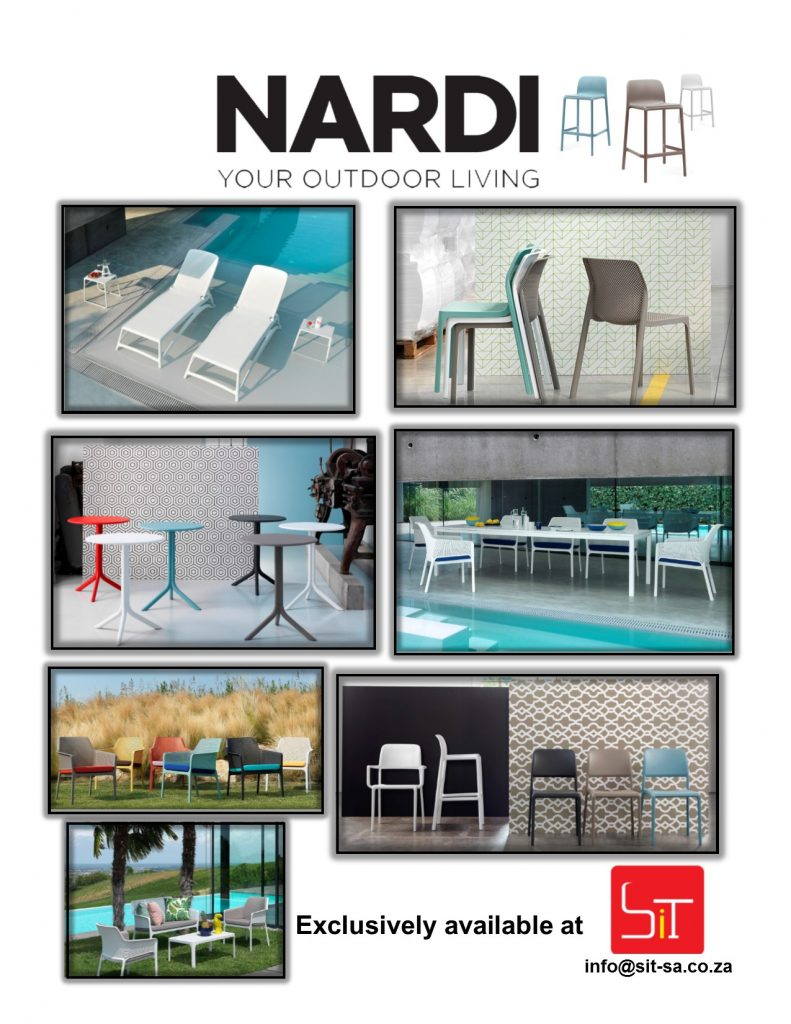 Nardi Outdoor Patio Furniture available from SiT