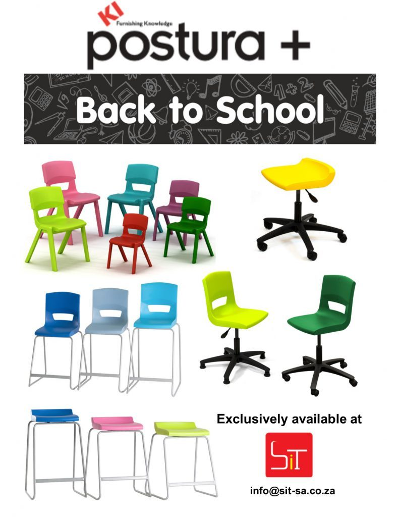 Postura School and Training Room Chairs available from SiT