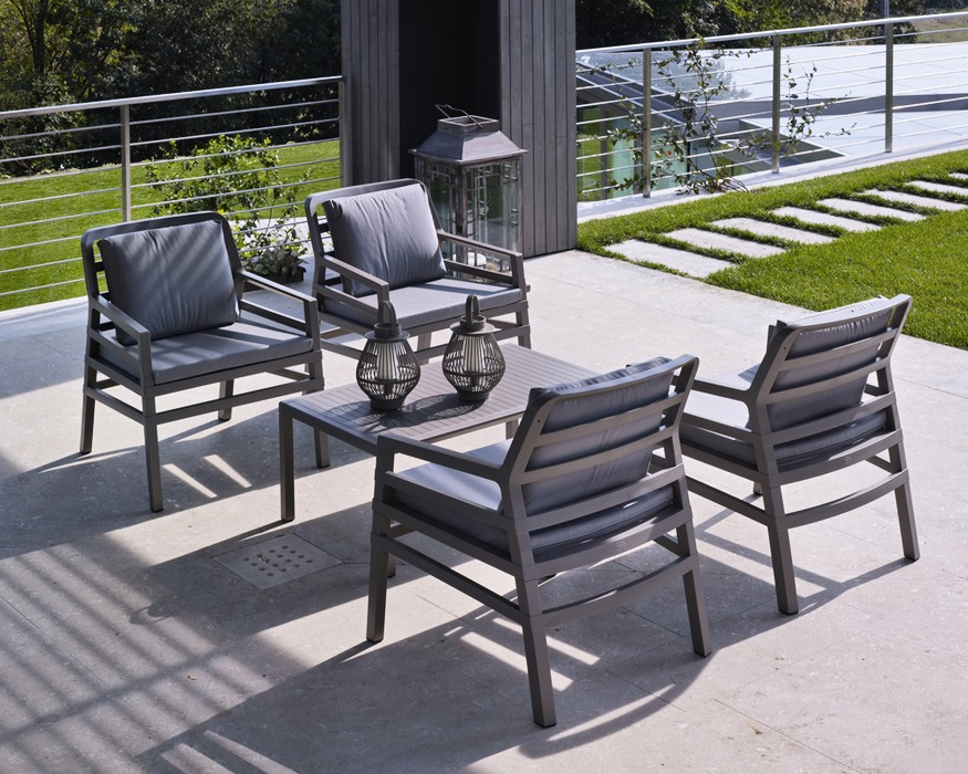 Nardi Patio Furniture.Sit In Trend Aria Lounge Set Sit In Trend